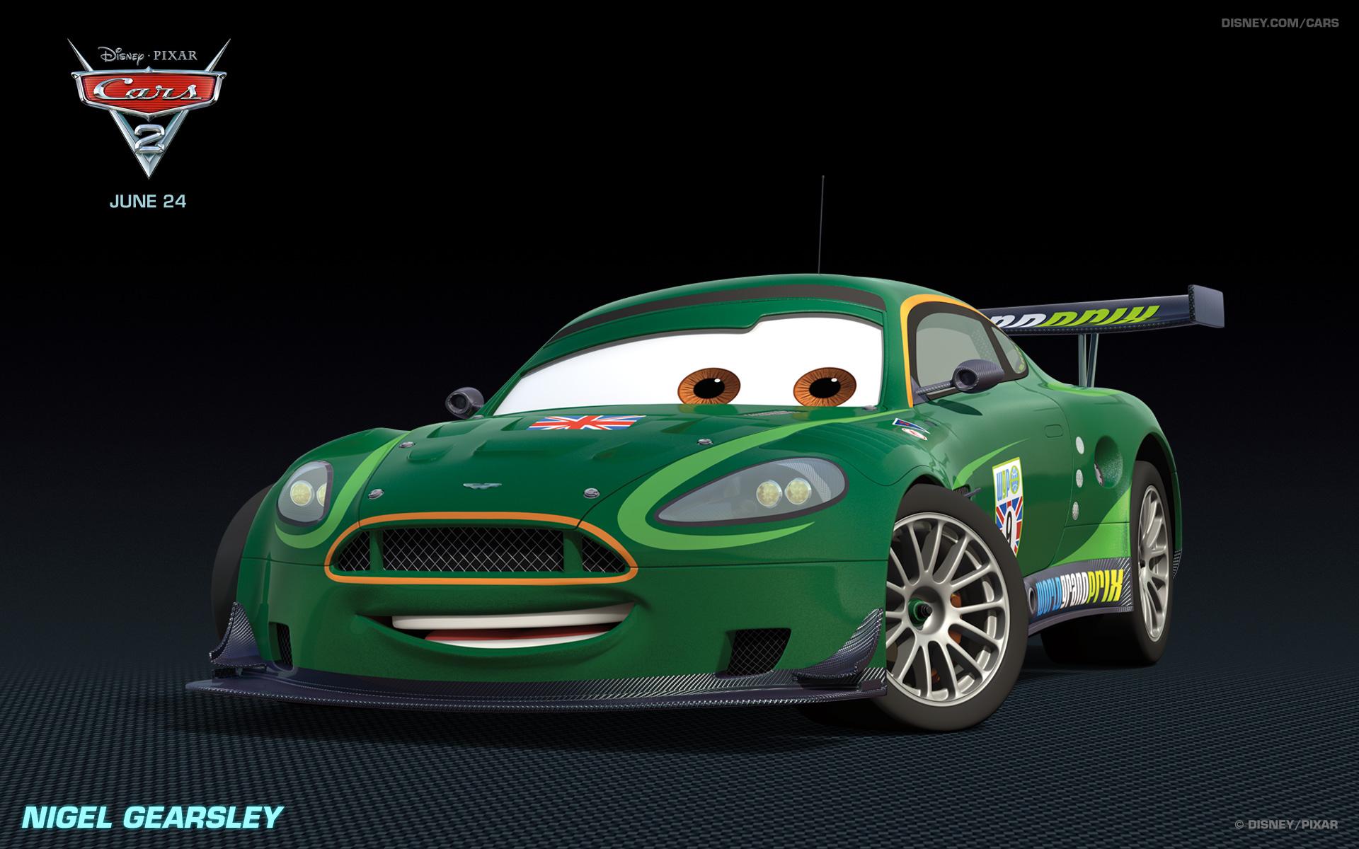 Disney Pixar Cars 2 Characters