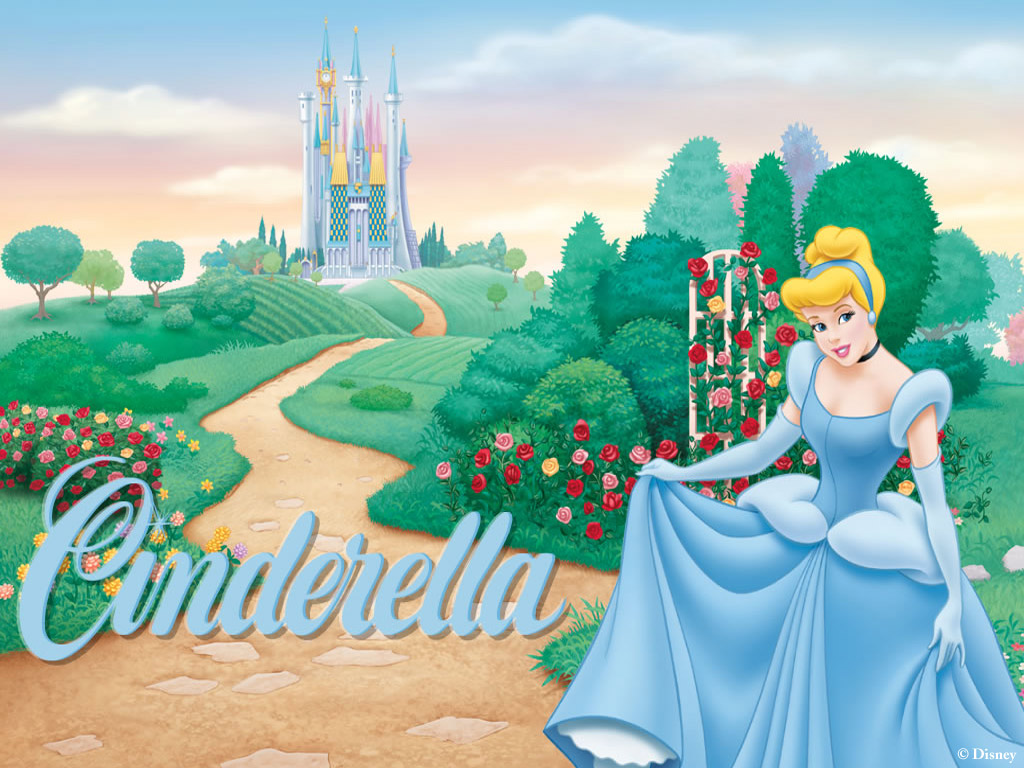 Wallpaper - Disney Prinsessen