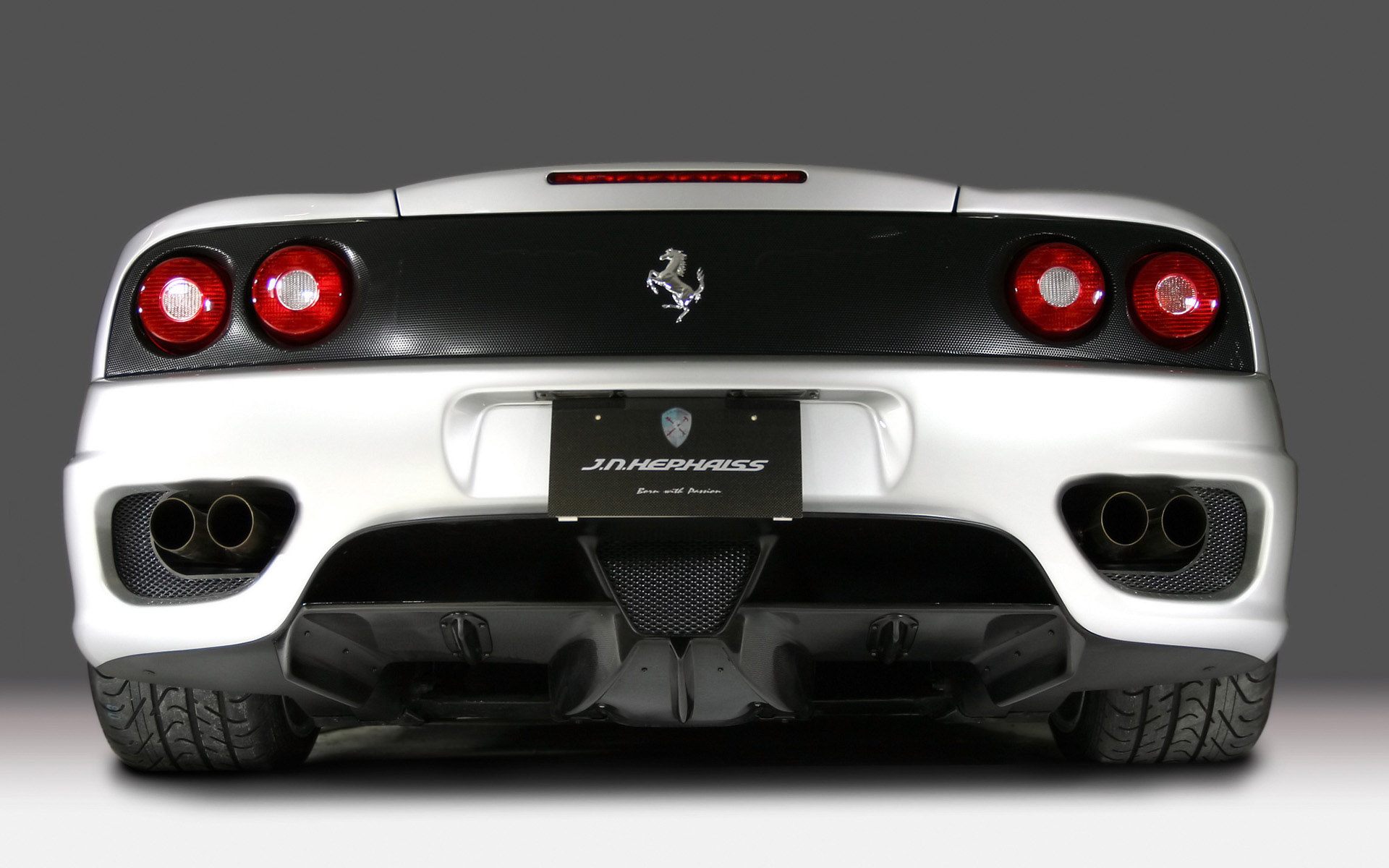Wallpaper ferrari breedbeeld