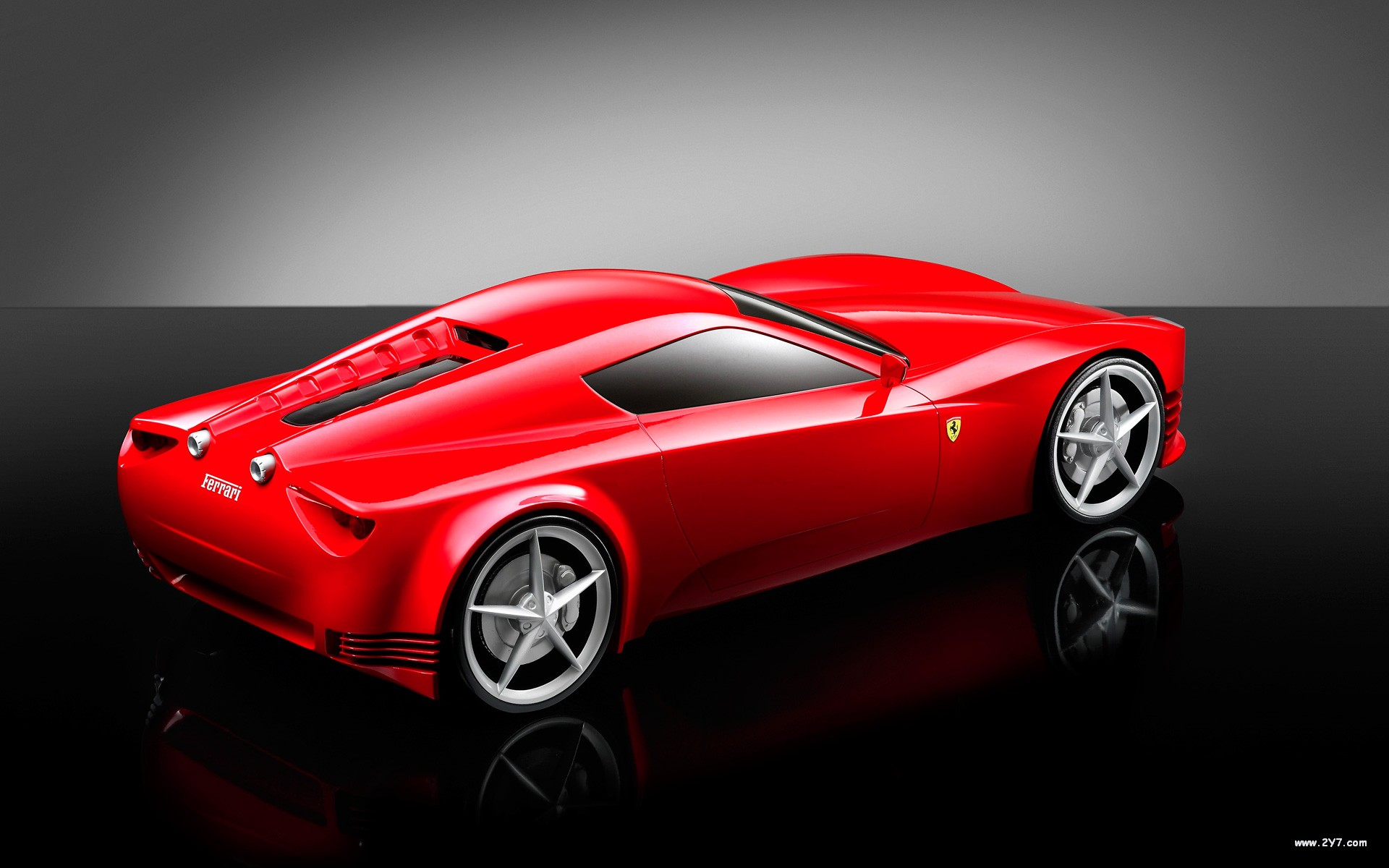 Kids N Fun  Wallpaper Ferrari Concept Cars