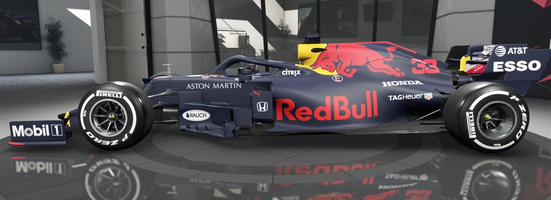 Red Bull Racing 2020 max verstappen