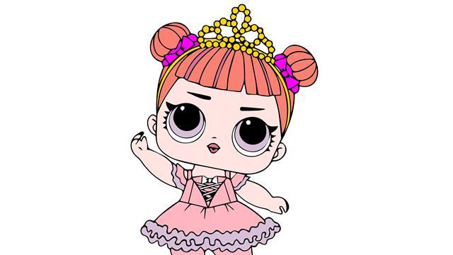 Kids N Fun 30 Kleurplaten Van L O L Surprise Dolls