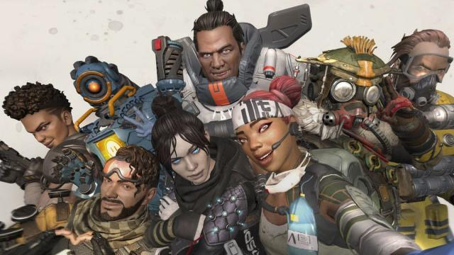 Apex Legends kleurplaten