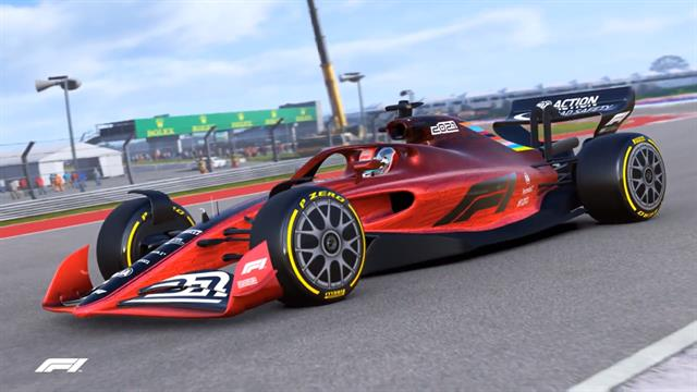 F1 FIA 2021 Concept Car wallpapers