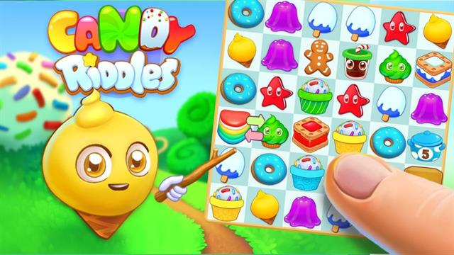 Candy Riddles puzzle 3 game
