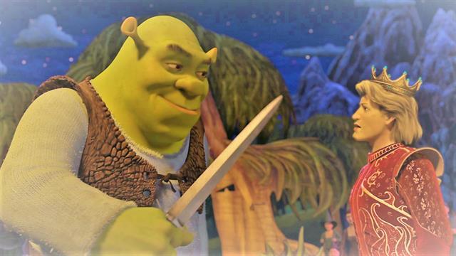Kleurplaten Kikkerkoning.Kids N Fun 26 Kleurplaten Van Shrek De Derde Shrek 3