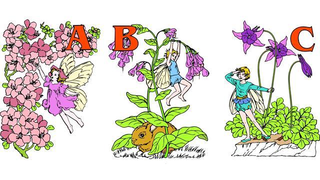 Kleurplaten Bloemenelfjes.Kids N Fun 26 Kleurplaten Van Alfabet Elfjes