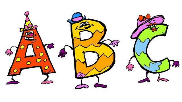 Kleurplaten Kleine Letters.Kids N Fun 26 Kleurplaten Van Alfabet Met Gekke Letters