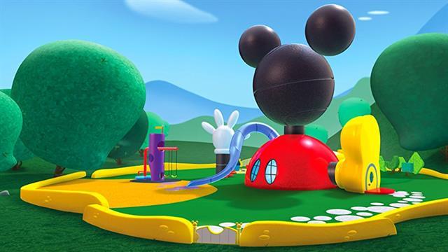 Kids N Fun 14 Kleurplaten Van Mickey Mouse Clubhuis