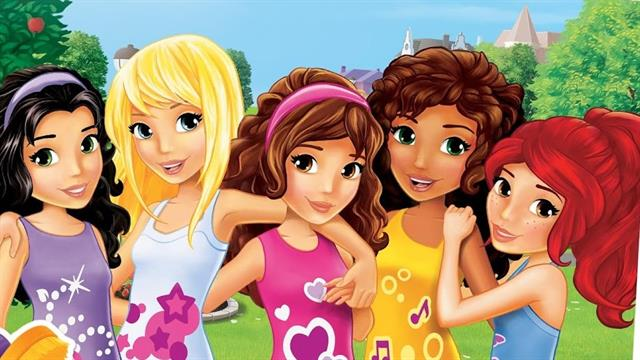 Gratis Kleurplaten Lego Friends.Kids N Fun 20 Kleurplaten Van Lego Friends