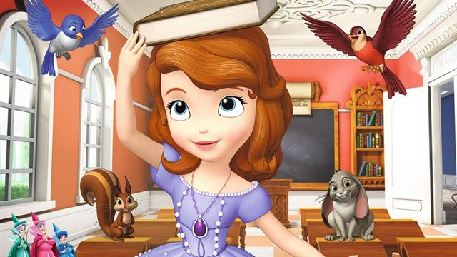Kleurplaten Prinses Sofia Printen.Kids N Fun 13 Kleurplaten Van Sofia Het Prinsesje