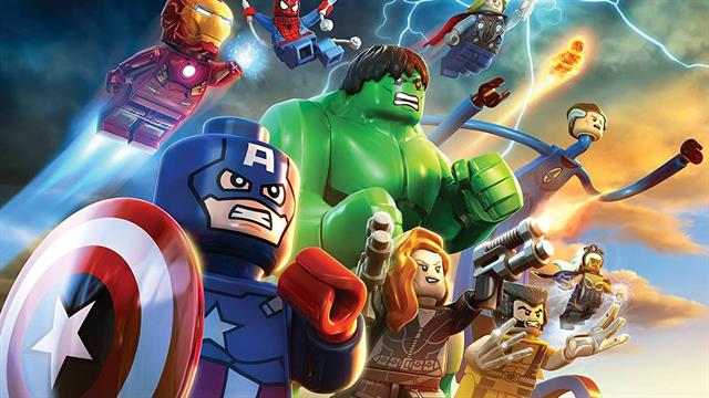 Kleurplaten Lego Avengers.Kids N Fun 15 Kleurplaten Van Lego Marvel Avengers