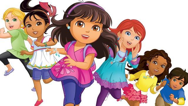 Kleurplaten Dora En Friends.Kids N Fun 6 Kleurplaten Van Dora And Friends