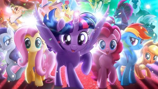 Nieuwe My Little Pony Kleurplaten.Kids N Fun 12 Kleurplaten Van My Little Pony De Film