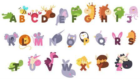 Kleurplaten Alfabetische Volgorde.Kids N Fun 26 Kleurplaten Van Alfabet