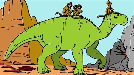 Reptielen Kleurplaten Printen.Kids N Fun 23 Kleurplaten Van Dinosaurussen