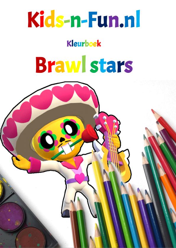 Kids n fun Kleurboek Brawl Stars