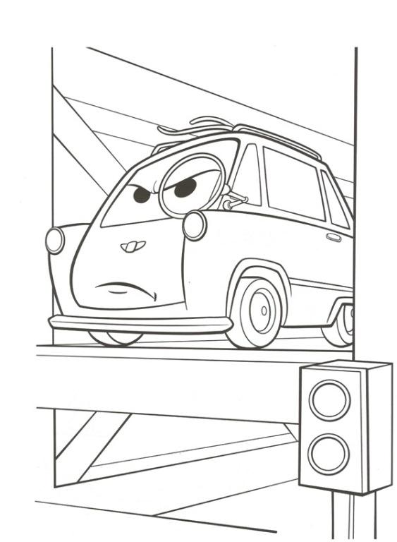 n 38 kleurplaten cars 2