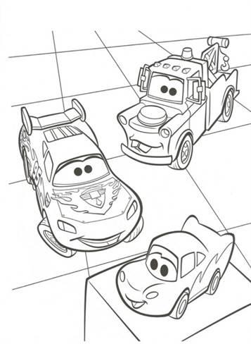 Kleurplaten Cars 2 Bliksem Mcqueen.Kids N Fun 38 Kleurplaten Van Cars 2