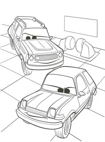 Kleurplaten Disney Cars 2.Kids N Fun 38 Kleurplaten Van Cars 2