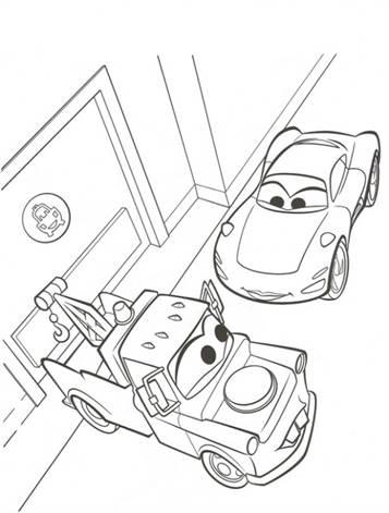 Kleurplaten Van Cars 2.Kids N Fun 38 Kleurplaten Van Cars 2