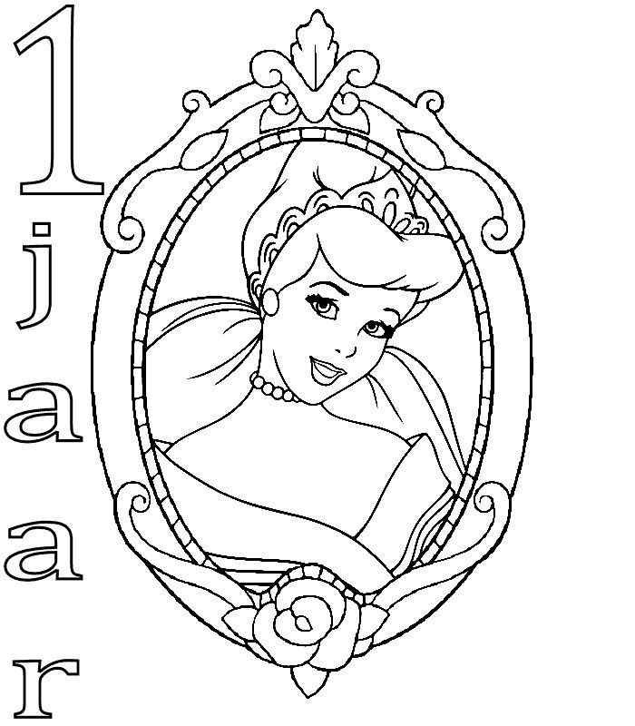 Kids N Fun 28 Kleurplaten Van Prinsessen Verjaardag