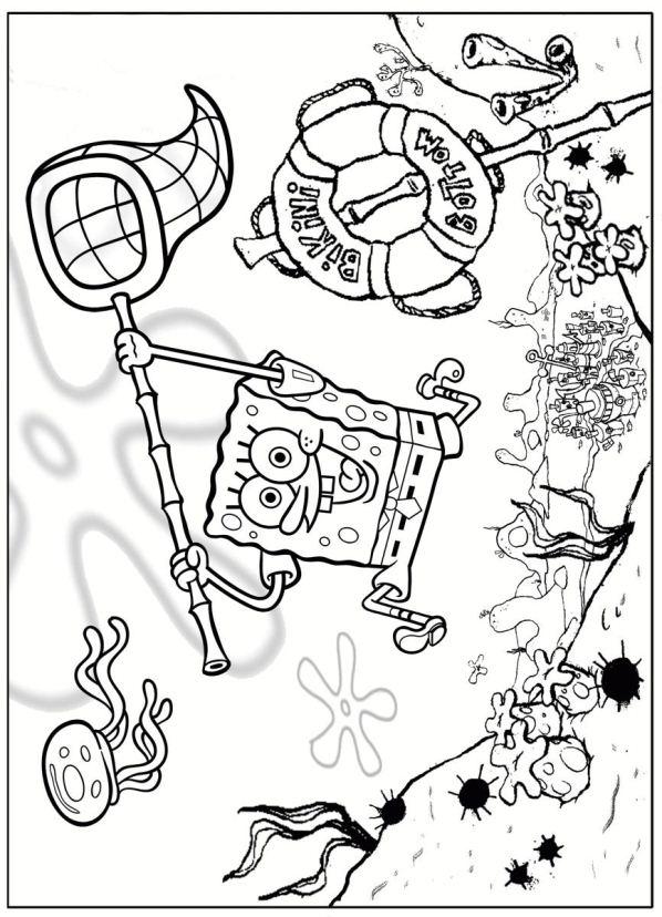 Kids N Fun 39 Kleurplaten Van Spongebob