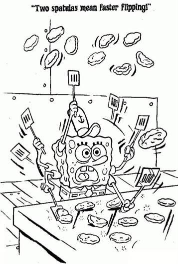 Kleurplaten Printen Spongebob.Kids N Fun 39 Kleurplaten Van Spongebob