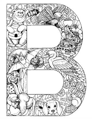 Kleurplaten Letters Dieren.Kids N Fun 26 Kleurplaten Van Alfabet Dieren