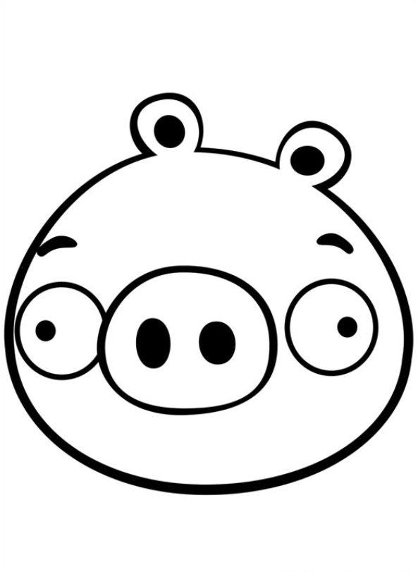 angry birds pigs coloring pages - kids n fun 42 kleurplaten van angry birds