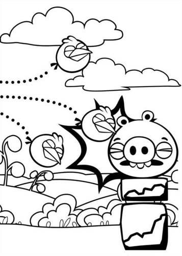 Kleurplaten Van Angry Birds Space.Kids N Fun 42 Kleurplaten Van Angry Birds