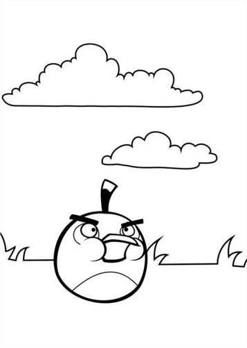 Kleurplaten Van Angry Birds.Kids N Fun 42 Kleurplaten Van Angry Birds