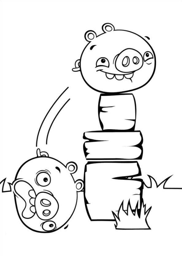 Angry Birds Stella Kleurplaten.Kids N Fun Kleurplaat Angry Birds Stella Angry Birds Stella