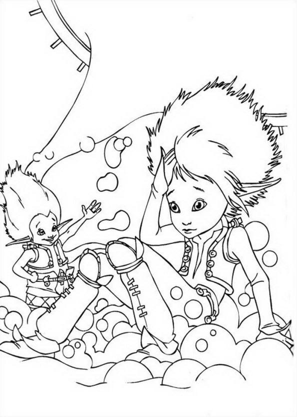 Kids N Fun 13 Kleurplaten Van Arthur En De Minimoys