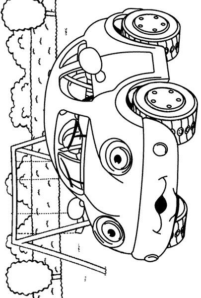n 38 kleurplaten auto