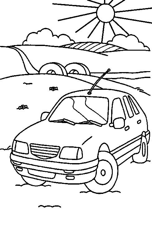 Kids N Fun 38 Kleurplaten Van Auto