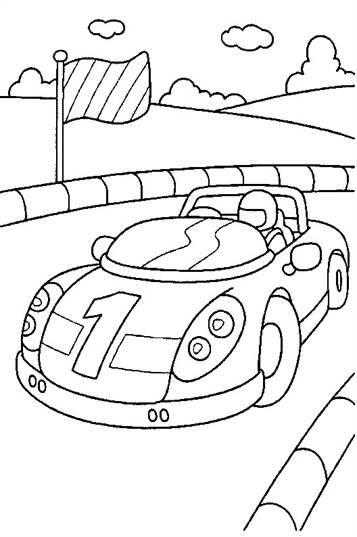 Grote Kleurplaten Auto.Kids N Fun 38 Kleurplaten Van Auto