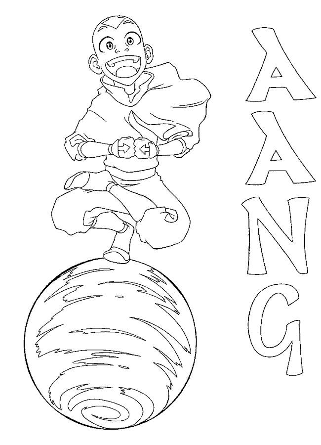 Kleurplaat Paard Hart Kids N Fun Kleurplaat Avatar Aang