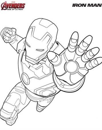 Kleurplaten Marvel Avengers.Kids N Fun 18 Kleurplaten Van Avengers
