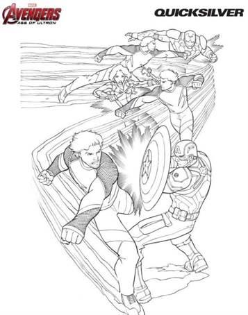Kleurplaten The Avengers.Kids N Fun 18 Kleurplaten Van Avengers