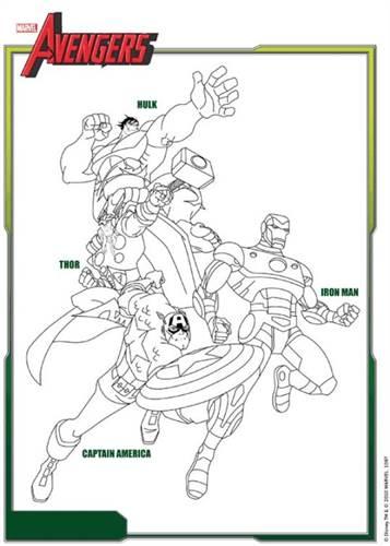 Kleurplaten Van De Avengers.Kids N Fun 18 Kleurplaten Van Avengers