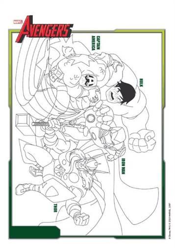 Kleurplaten Avengers Assemble.Kids N Fun 18 Kleurplaten Van Avengers