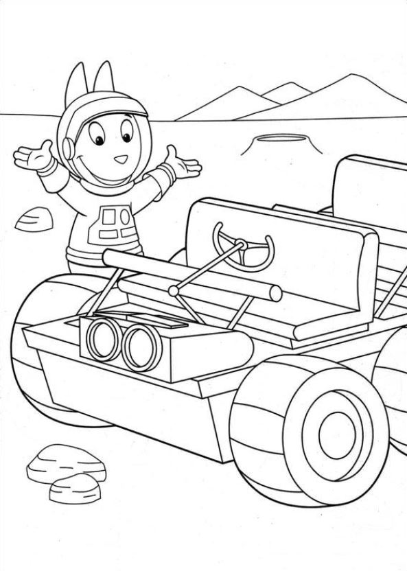 the backyardigans coloring pages - kids n fun kleurplaat backyardigans backyardigans