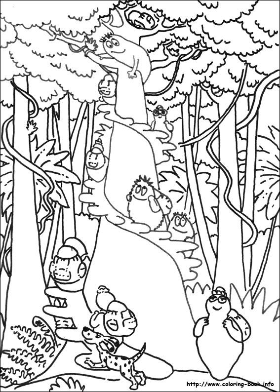 Kleurplaten Dieren Uit De Jungle.Kleurplaat Jungle