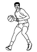 n 17 kleurplaten basketbal