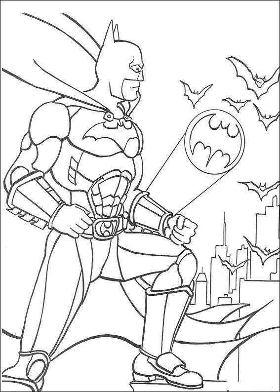 Kids N Fun 72 Kleurplaten Van Batman Coloring Pages Batman Coloring Pages
