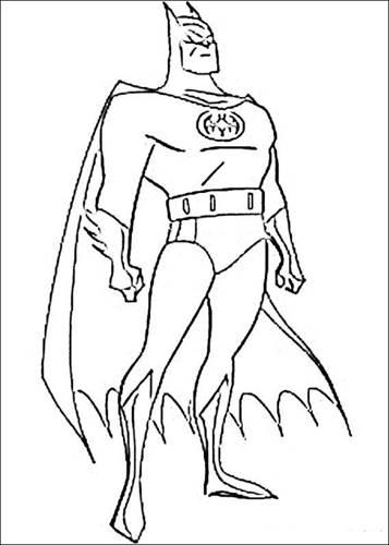 Batman Kleurplaten Printen.Kids N Fun 72 Kleurplaten Van Batman
