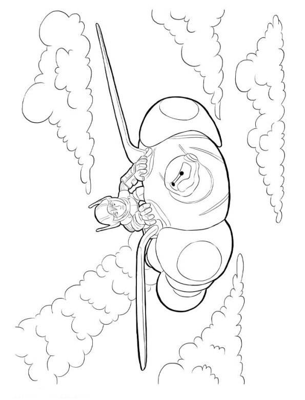 big hero 6 coloring pages hiro - photo #17