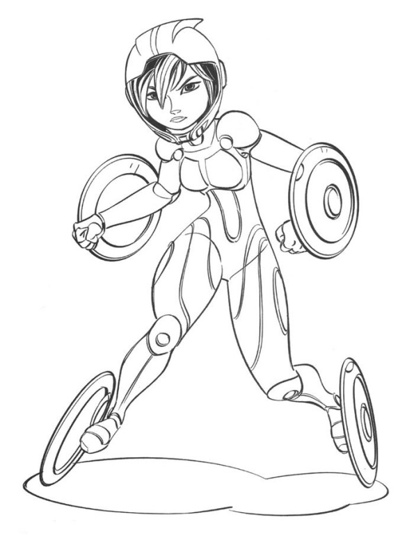 big hero 6 coloring pages hiro - photo #12