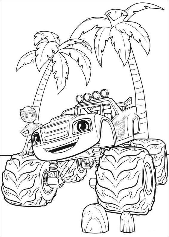 Kleurplaten Printen Monster Truck.Kleurplaat Monstertruck Wandtattoo Monstertruck Mit Wunschname